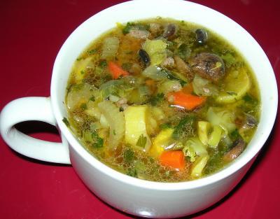 Detoxikační zeleninová polévka