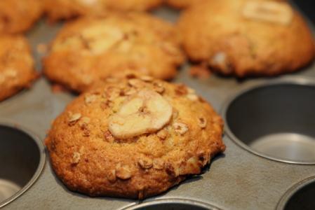 Proteinové muffiny s banánem